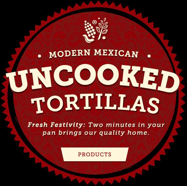 Uncooked Tortillas