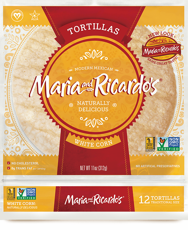non-gmo gmo-free originals large white corn tortillas
