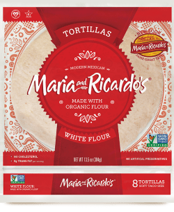 Non GMO White Flour Tortillas