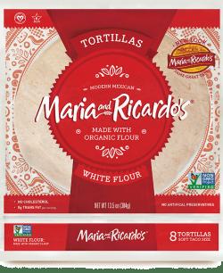 Non GMO White Flour Tortillas