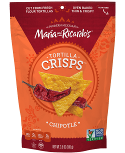 Maria and Ricardo's Chipotle Tortilla Crisps