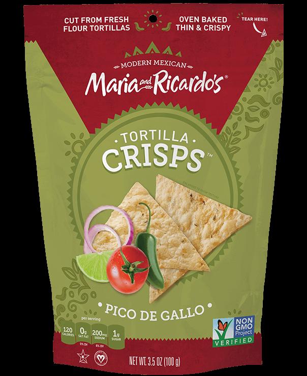 Maria and Ricardo's Pico de Gallo Tortilla Crisps