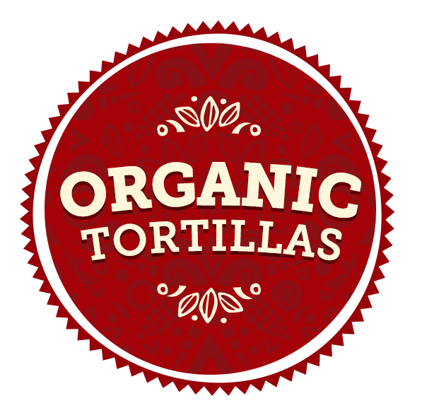 Maria & Ricardo's Organic Tortillas radial graphic