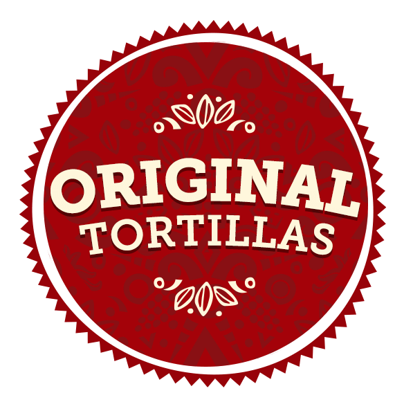 Maria & Ricardo's Original Tortillas radial graphic