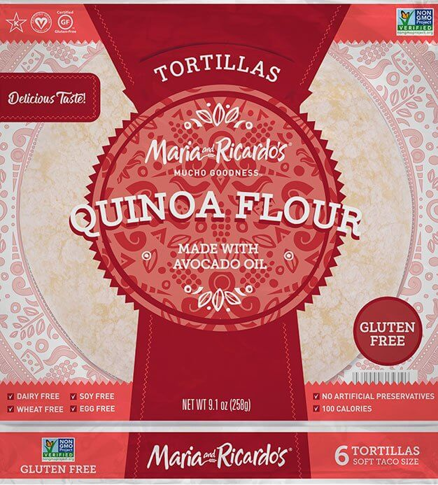 Quinoa Flour Tortilla