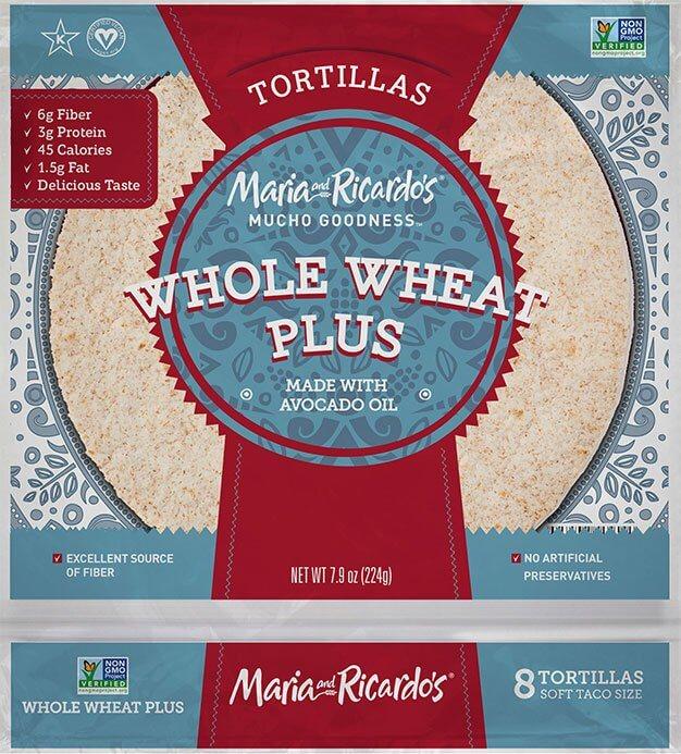 Whole Wheat Plus Tortillas
