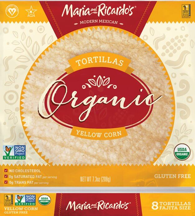 Maria and Ricardo's Organic Soft Corn Tortillas