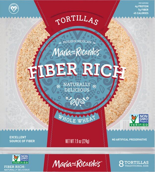 Maria and Ricardo's Fiber Rich Tortillas