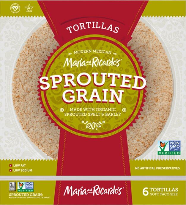 Maria and Ricardo's Sprouted Grain Tortillas