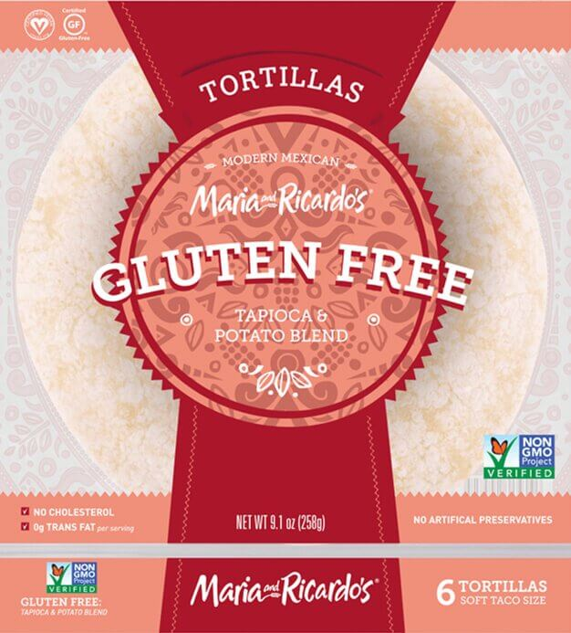 Maria and Ricardo's Original Gluten Free Tortillas