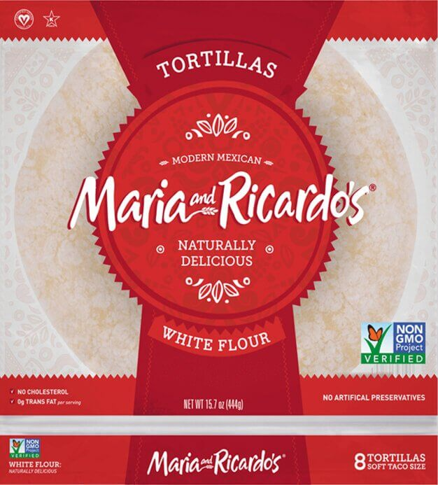 Maria and Ricardo's Original White Flour Tortillas